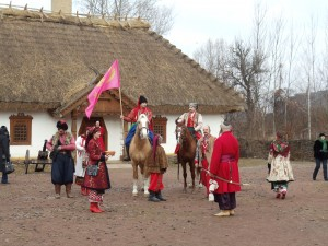 Visiting a Re-constructed Cossack Village
