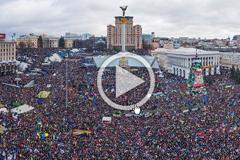EuroMaidan 360 Panorama